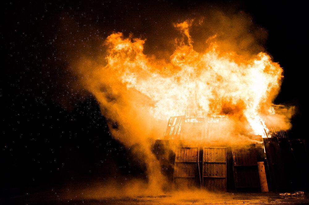 Oficina Técnica de Ingeniería Forense - La explosión del monte
