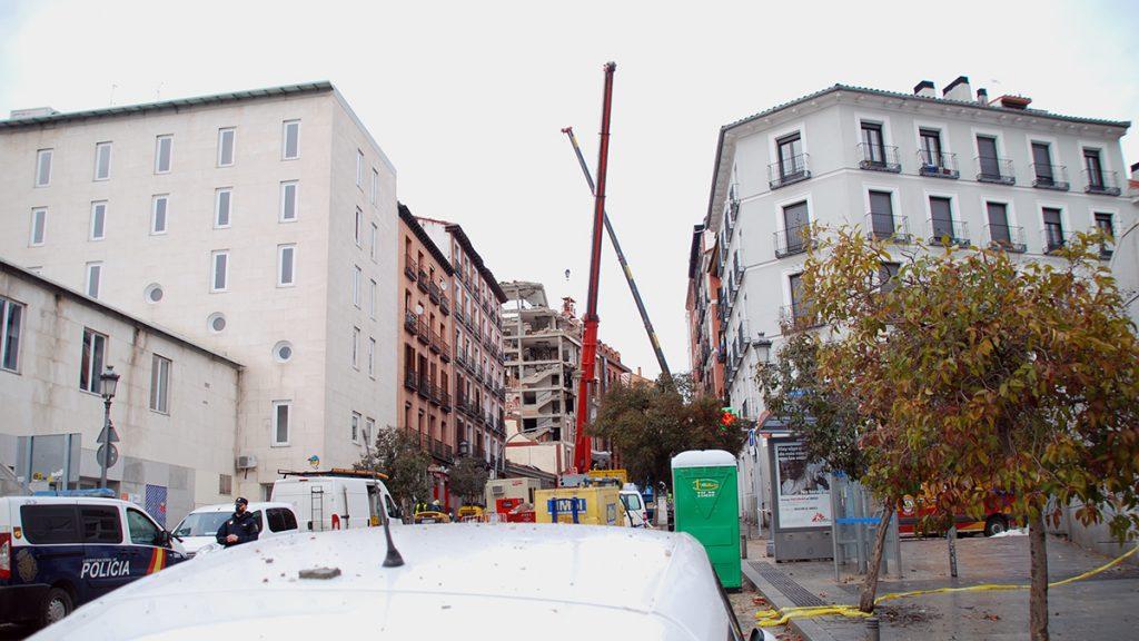 Oficina Técnica de Ingeniería Forense Explosión Madrid