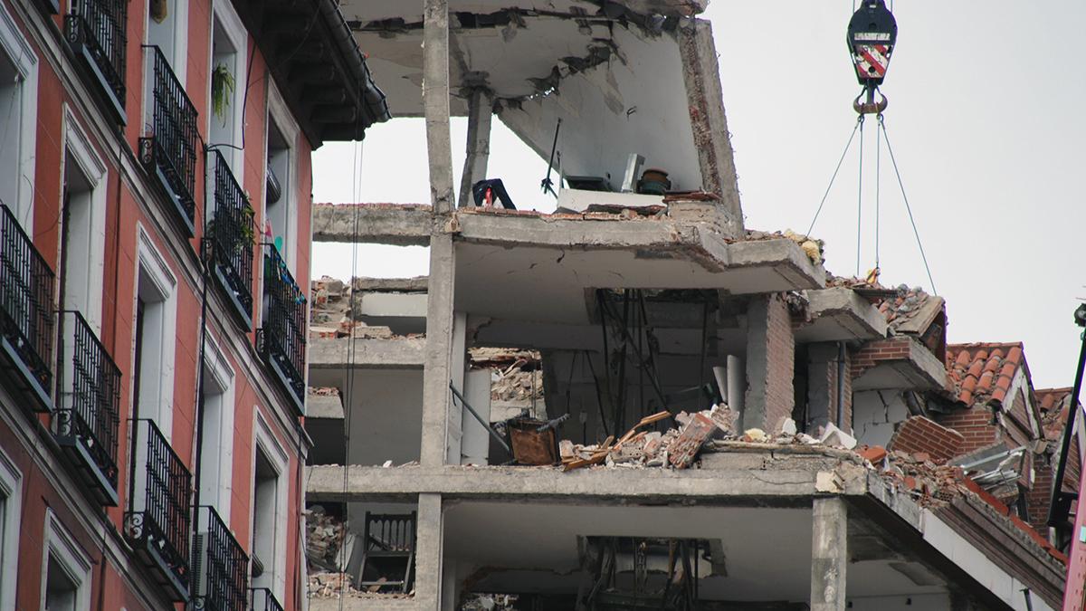 Oficina Técnica de Ingeniería Forense Explosión Madrid 2